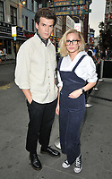 Luke Newton and Sophie Simnett at the Daisie new app launch party, The Perception at W London Hotel, Wardour Street, London, England, UK, on Friday 03 August 2018.<br /> CAP/CAN<br /> &copy;CAN/Capital Pictures