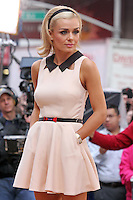 "Opera singer Katherine Jenkins from ""Dancing With the Stars"" Season 14 outside ABC's ""Good Morning America"" Times Square studio in New York, 23.05.2012..Credit: Rolf Mueller/face to face / Mediapunchinc"