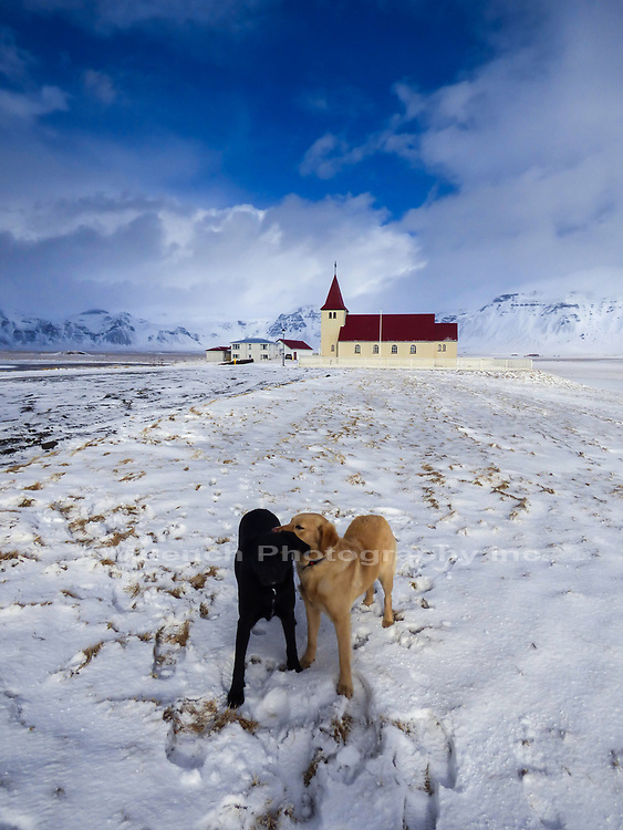 Church at Stadarastadur,Snaefellesnes National Park,Iceland