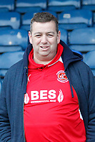 A Fleetwood Town FC fan seen during the Sky Bet League 1 match between Southend United and Fleetwood Town at Roots Hall, Southend, England on 13 January 2018. Photo by Carlton Myrie.