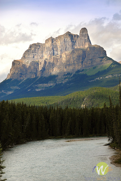 Castle Mountain Bow River Valley