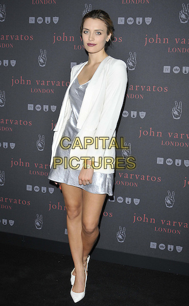 LONDON, ENGLAND - SEPTEMBER 03: Wallis Day attends the John Varvatos flagship store launch party, John Varvatos, Conduit St., on Wednesday September 03, 2014 in London, England, UK. <br /> CAP/CAN<br /> &copy;Can Nguyen/Capital Pictures