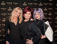 LAS VEGAS, NV - March 28: Britt Eckland, Sharon Osborne, Kelly Osborne pictured arriving at FIZZ Grand Openign at Caesars Palace in Las Vegas, NV on March 28, 2014. © Kabik/ Starlitepics