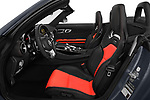 Front seat view of a 2018 Mercedes Benz AMG GT base 2 Door Roadster front seat car photos