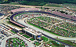 Aerial view of  Dover Downs International Speedway, nascar track