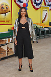 WESTWOOD, CA - AUGUST 09: Actress Garcelle Beauvais arrives at the Premiere Of Sony's 'Sausage Party' at Regency Village Theatre on August 9, 2016 in Westwood, California.