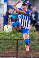 Allston, MA - Sunday, May 22, 2016: Boston Breakers forward Kyah Simon (17) during a regular season National Women's Soccer League (NWSL) match at Jordan Field.