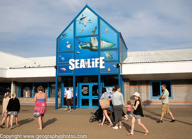 Sealife aquarium attraction, Great Yarmouth, Norfolk, England