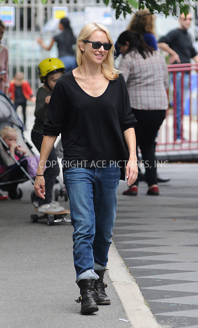 WWW.ACEPIXS.COM . . . . .  ....May 4 2012, New York City....Actors Naomi Watts and Liev Schreiber take their kids Sasha and Sammy to the park on May 4 2012 in New york City....Please byline: CURTIS MEANS - ACE PICTURES.... *** ***..Ace Pictures, Inc:  ..Philip Vaughan (212) 243-8787 or (646) 769 0430..e-mail: info@acepixs.com..web: http://www.acepixs.com