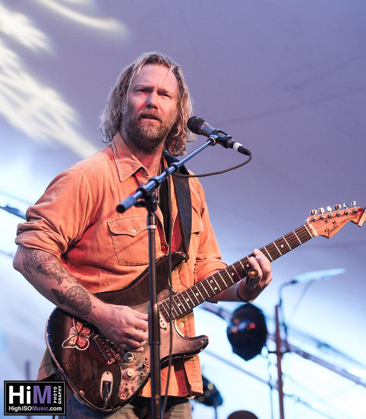 Anders Osborne, Johnny Sansone perform at Voodoo Fest 2012 in New Orleans, LA.