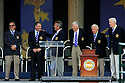Past European Ryder Cup Captains at the official opening ceremony prior to the 37th Ryder Cup Matches, September 16 -21, 2008 played at Valhalla Golf Club, Louisville, Kentucky, USA ( Picture by Phil Inglis ).... ......