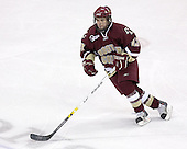 Pat Gannon of Arlington, Massachusetts, junior forward, scored the lone Boston College goal in the 2006 Frozen Four Final vs. Wisconsin. The Boston College Eagles defeated the University of Wisconsin Badgers 3-0 on Friday, October 27, 2006, at the Kohl Center in Madison, Wisconsin in their first meeting since the 2006 Frozen Four Final which Wisconsin won 2-1 to take the national championship.<br />