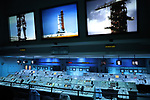 Kennedy Space Center, Florida - Tuesday January 16, 2018: Apollo 8 Firing Room Theater.