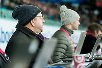 Press Reporters journalists <br /> Re: Behind the Scenes Photographs at the Liberty Stadium ahead of and during the Premier League match between Swansea City and Bournemouth at the Liberty Stadium, Swansea, Wales, UK. Saturday 25 November 2017