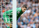 Manchester City's Ederson in action during the premier league match at the Etihad Stadium, Manchester. Picture date 9th September 2017. Picture credit should read: David Klein/Sportimage