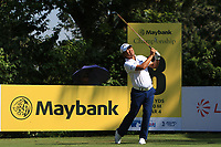 Danny Chia (MAS) on the 8th tee during Round 1 of the Maybank Championship at the Saujana Golf and Country Club in Kuala Lumpur on Thursday 1st February 2018.<br /> Picture:  Thos Caffrey / www.golffile.ie<br /> <br /> All photo usage must carry mandatory copyright credit (© Golffile | Thos Caffrey)