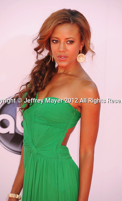 LOS ANGELES, CA - SEPTEMBER 23: Heather Hemmens. arrives at the 64th Primetime Emmy Awards at Nokia Theatre L.A. Live on September 23, 2012 in Los Angeles, California.