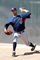 David Huff  -  Cleveland Indians - 2009 spring training.Photo by:  Bill Mitchell/Four Seam Images