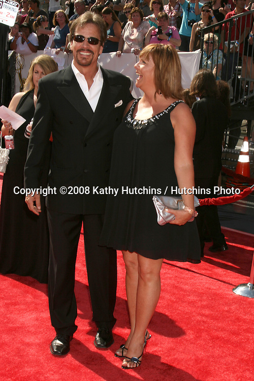 Bradley Cole & Kim Zimmer arriving at the Daytime Emmys 2008 at the Kodak Theater in Hollywood, CA on.June 20, 2008.©2008 Kathy Hutchins / Hutchins Photo .