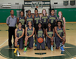 12-8-14, Huron High School girl's varsity basketball team