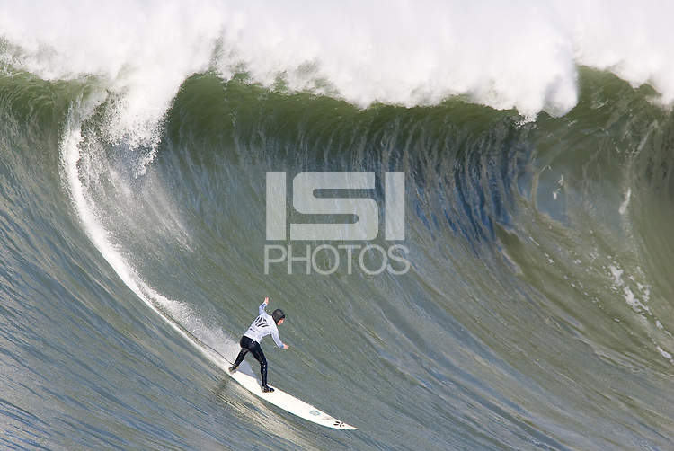 Tim West. Mavericks Surf Contest in Half Moon Bay, California on February 13th, 2010.