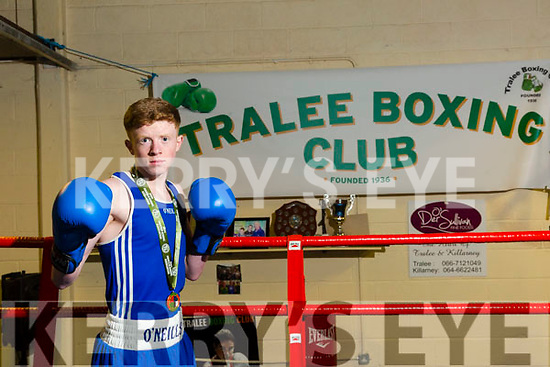 Patrick McCarthy (Tralee Boxing Club) won an All Ireland gold medal at the National Stadium on Saturday