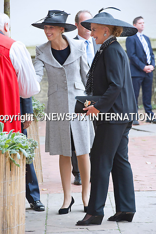 11.09.2014;London, England:PRINCESS MICHAEL OF KENT AND DAUGHTER LADY GABRIELLA WINDSOR <br /> attend the Memorial Service for Mark Shand at St Paul's Knightsbridge,London.<br /> Mark, Camilla's brother died in New York earlier this year.<br /> Mandatory Photo Credit: &copy;Francis Dias/NEWSPIX INTERNATIONAL<br /> <br /> **ALL FEES PAYABLE TO: &quot;NEWSPIX INTERNATIONAL&quot;**<br /> <br /> PHOTO CREDIT MANDATORY!!: NEWSPIX INTERNATIONAL(Failure to credit will incur a surcharge of 100% of reproduction fees)<br /> <br /> IMMEDIATE CONFIRMATION OF USAGE REQUIRED:<br /> Newspix International, 31 Chinnery Hill, Bishop's Stortford, ENGLAND CM23 3PS<br /> Tel:+441279 324672  ; Fax: +441279656877<br /> Mobile:  0777568 1153<br /> e-mail: info@newspixinternational.co.uk
