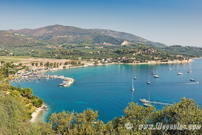 Keri Lake (Limni) in Zakynthos island, Greece