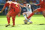 Lionel Messi (ARG), JULY 5, 2014 - Football / Soccer : FIFA World Cup Brazil 2014 Quarter-finals match between Argentina 1-0 Belgium at Estadio Nacional in Brasilia, Brazil. (Photo by FAR EAST PRESS/AFLO)