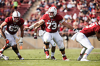 Stanford, CA - November 5, 2016: Johnny Caspers and Jesse Burkett during  the Stanford vs Oregon State game at Stanford Stadium Saturday. <br /> <br /> Stanford won 26-15.