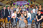 Chloe Mulvihill seated centre from Lisselton,  celebrated her 18th birthday with family and friends in the railway bar Ballybunion on Friday night.