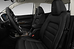Front seat view of 2017 GMC Canyon Denali-Crew 4 Door Pickup Front Seat  car photos