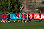 Training of Spanish national team under 21 at Ciudad del El futbol  in Madrid, Spain. March 21, 2017. (ALTERPHOTOS / Rodrigo Jimenez)