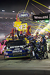 Oct 11, 2008; 7:11:35 PM;  Concord, NC, USA; Nascar Sprint Cup Series for the Bank of America 500  at Lowe's Motor Speedway. Mandatory Credit: Joey Millard
