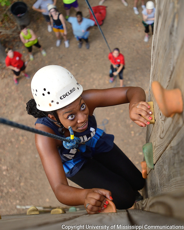 Ole Miss Outdoors Challenge Course