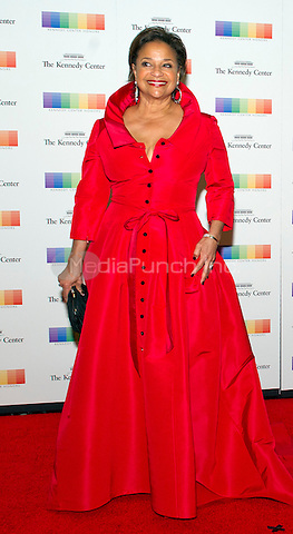Debbie Allen arrives for the formal Artist's Dinner honoring the recipients of the 38th Annual Kennedy Center Honors hosted by United States Secretary of State John F. Kerry at the U.S. Department of State in Washington, D.C. on Saturday, December 5, 2015. The 2015 honorees are: singer-songwriter Carole King, filmmaker George Lucas, actress and singer Rita Moreno, conductor Seiji Ozawa, and actress and Broadway star Cicely Tyson.<br /> Credit: Ron Sachs / Pool via CNP/MediaPunch