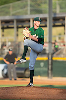 Savannah Sand Gnats starting pitcher Casey Meisner (15) in action against the Hickory Crawdads at L.P. Frans Stadium on June 15, 2015 in Hickory, North Carolina.  The Crawdads defeated the Sand Gnats 4-1.  (Brian Westerholt/Four Seam Images)