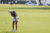 Sierra Brooks (a)(USA) hits her approach shot on 1 during round 1 of the 2019 US Women's Open, Charleston Country Club, Charleston, South Carolina,  USA. 5/30/2019.<br /> Picture: Golffile | Ken Murray<br /> <br /> All photo usage must carry mandatory copyright credit (© Golffile | Ken Murray)
