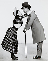 Gigi (1958) <br /> Leslie Caron, Louis Jourdan<br /> *Filmstill - Editorial Use Only*<br /> CAP/MFS<br /> Image supplied by Capital Pictures