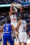 Real Madrid's Jeffery Taylor during Turkish Airlines Euroleague match between Real Madrid and Anadolu Efes at Wizink Center in Madrid, April 07, 2017. Spain.<br /> (ALTERPHOTOS/BorjaB.Hojas)
