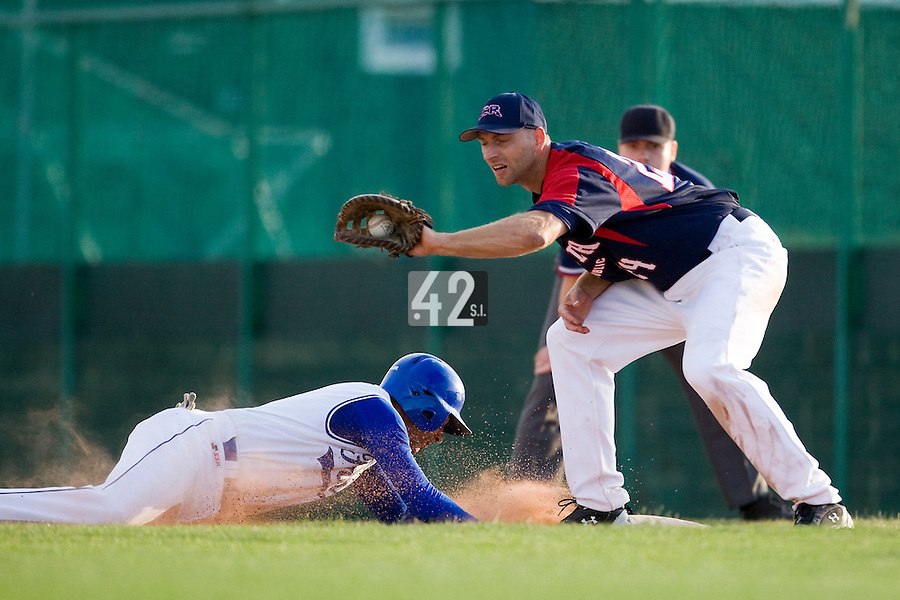 BASEBALL - GREEN ROLLER PARK - PRAGUE (CZECH REPUBLIC) - 28/06/2008 - PHOTO: CHRISTOPHE ELISE.ANTHONY MEURANT (TEAM FRANCE)