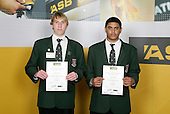 Basketball Boys Finalists. ASB College Sport Young Sportsperson of the Year Awards 2006, held at Eden Park on Thursday 16th of November 2006.<br />