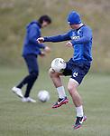 Fraser Aird on the ball