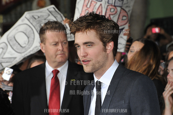 """Robert Pattinson at the world premiere of his new movie """"The Twilight Saga: New Moon"""" at Mann Village & Bruin Theatres, Westwood..November 16, 2009  Los Angeles, CA.Picture: Paul Smith / Featureflash"""