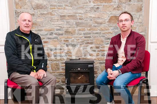 Atghea Comunity Councilmembers Donal de Barra & Damien Ahern.