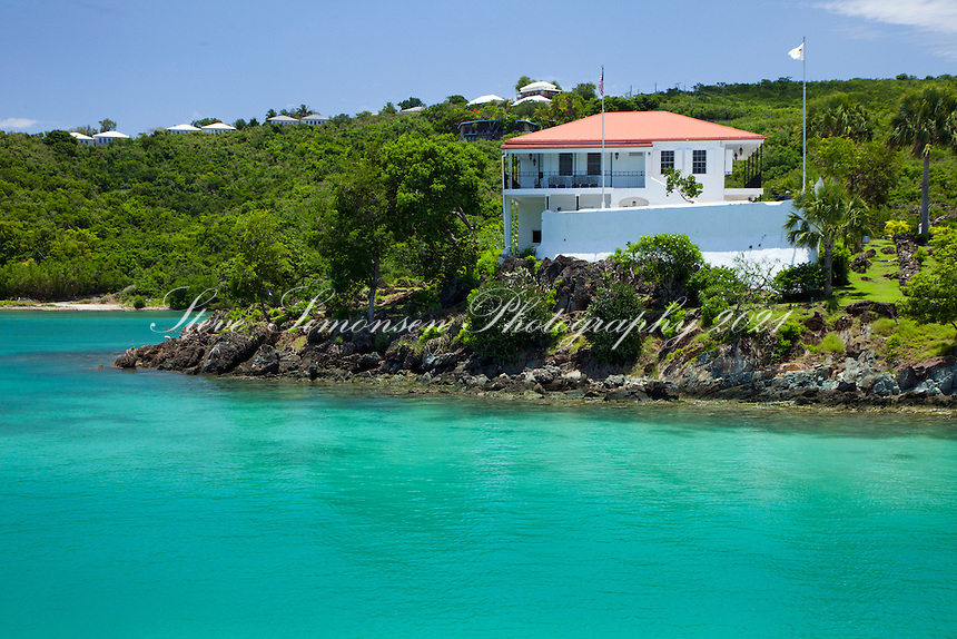The Battery<br /> Government building<br /> Cruz Bay, St. John<br /> U.S. Virgin Islands