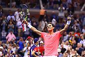 6th September 2017, Flushing Meadowns, New York, USA; RAFAEL NADAL (ESP) during day ten match of the 2017 US Open on September 06, 2017 at Billie Jean King National Tennis Center, Flushing Meadow, NY.
