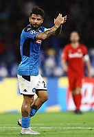 5th November 2019; Stadio San Paolo, Naples, Campania, Italy; UEFA Champions League Group Stage Football, Napoli versus Red Bull Salzburg; Lorenzo Insigne of Napoli - Editorial Use