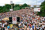 Greve de metalúrgicos do ABC. São Paulo. 1985. Foto de Juca Martins.