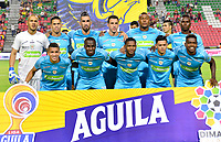 IBAGUE - COLOMBIA, 26-08-2019: Jugadores del Jaguares posan para una foto previo al partido entre Deportes Tolima y Jaguares de Córdoba por la fecha 8 de la Liga Águila II 2019 jugado en el estadio Manuel Murillo Toro de la ciudad de Ibagué. / Players of Jaguares pose to a photo prior match between Deportes Tolima and Jaguares de Cordoba for the date 8 as part of Aguila League II 2019 played at Manuel Murillo Toro stadium in Ibague. Photo: VizzorImage / Juan Carlos Escobar / Cont
